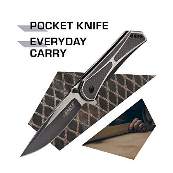 Elite Tactical Folding Survival Knife 2 Elite Tactical Folding Pocket Knife - ET-1008
