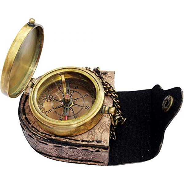 MAH Survival Compass 5 MAH Home is Wherever , Camping Compass Engraved with Gift Compass for Christmas. C-3143