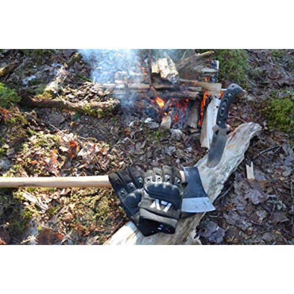 Cudeman Fixed Blade Survival Knife 6 Cudeman Survival Knife 155-M MOVA ENTRESIERRAS, Sport use, Micarta Handle, Basic Kit, Camping Tool for Fishing, Hunting, Sport Activity + Multifunction Gift Card