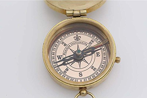 Roorkee Instruments India Survival Compass 5 Roorkee Instruments India Thoreau's Quote Go Confidently in The Direction of Your Dreams! Live The Life You've Imagined Compass