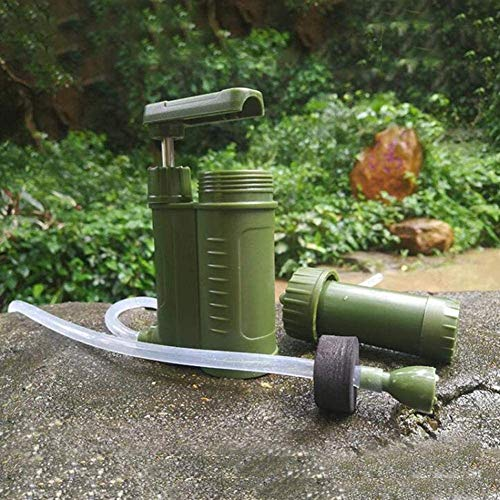 OULATUWB  4 OULATUWB Mini Water Filtration System Portable Gravity Powered Water Purifier for Emergency Preparedness and Camping