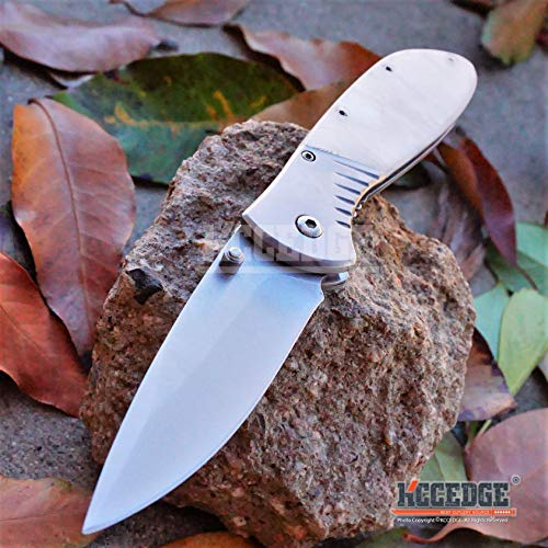 KCCEDGE BEST CUTLERY SOURCE  4 KCCEDGE BEST CUTLERY SOURCE EDC Pocket Knife Camping Accessories Razor Sharp Edge Folding Knife Camping Gear Survival Kit 57819