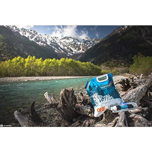 Sawyer Products Survival Water Filter 4 Sawyer Products One-Gallon Gravity Water Filtration System