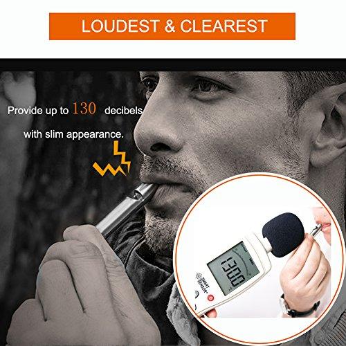 Titanium Outdoor Loud Coach Whistle