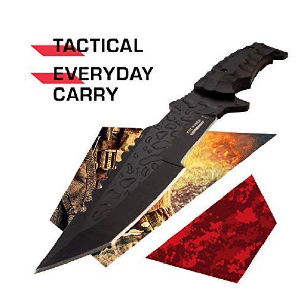 Tac Force Evolution Fixed Blade Survival Knife 2 Tac Force Evolution Fixed Blade Knife - TFE-FIX008-BK