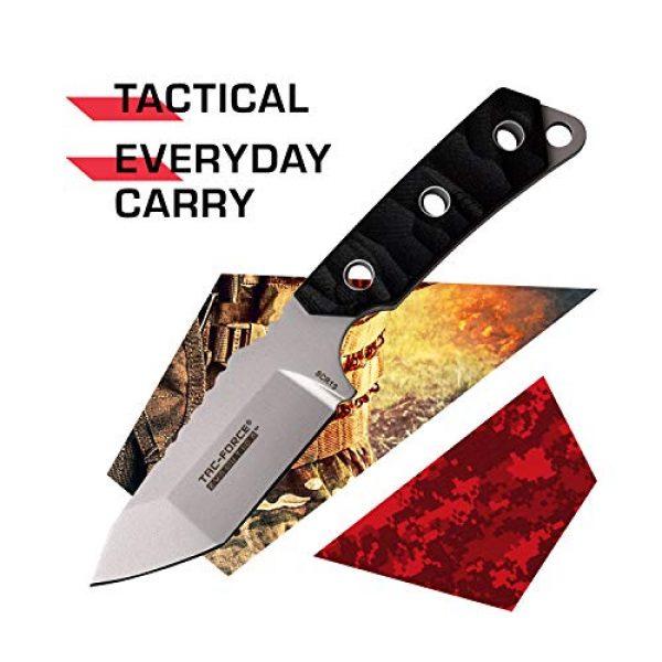 Tac Force Evolution Fixed Blade Survival Knife 2 Tac Force Evolution Fixed Blade Knife - TFE-FIX011-BK