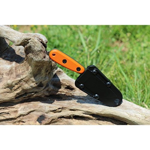 ESEE Fixed Blade Survival Knife 4 ESEE Knives Izula-OD w/Handle, Molded Polymer Sheath, and Clip Plate