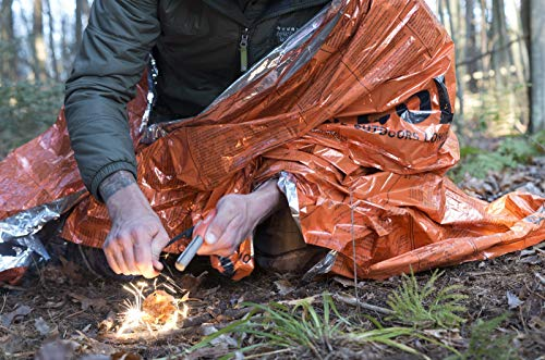 S.O.L. Survive Outdoors Longer Survival Fire Starter 4 S.O.L. Survive Outdoors Longer S.O.L. Mag Striker Fire Starting Tool