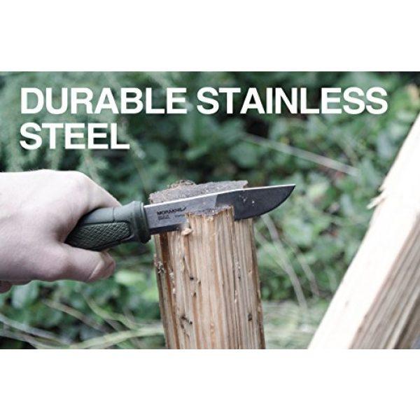 Morakniv Fixed Blade Survival Knife 4 Morakniv Kansbol Fixed Blade Knife with Sandvik Stainless Steel Blade