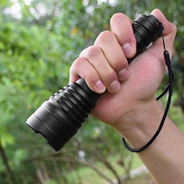Odepro Survival Flashlight 5 Odepro KL41 420 Yards 850 Lumens 5 Modes Tactical LED Flashlight Waterproof Handheld Lights - Outdoor, Camping, Emergency Flashlights