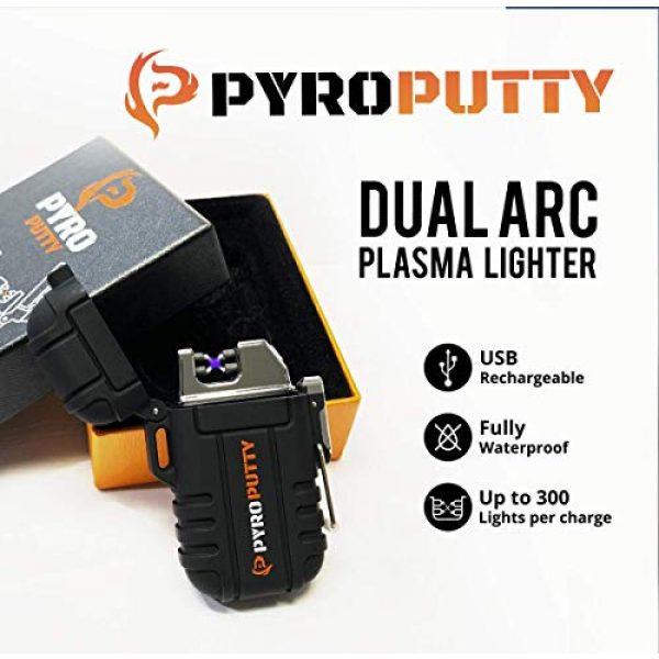Phone Skope Survival Fire Starter 3 Phone Skope PYRO Putty ARC Lighter Kits | USB Rechargable |
