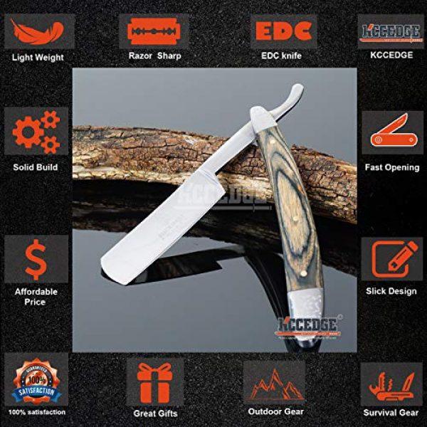 KCCEDGE BEST CUTLERY SOURCE Folding Survival Knife 3 KCCEDGE BEST CUTLERY SOURCE EDC Pocket Knife Camping Accessories Razor Sharp Edge Folding Knife Camping Gear Survival Kit 57925