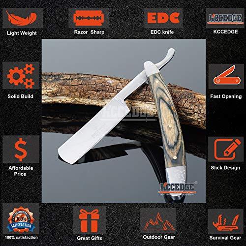 KCCEDGE BEST CUTLERY SOURCE  3 KCCEDGE BEST CUTLERY SOURCE EDC Pocket Knife Camping Accessories Razor Sharp Edge Folding Knife Camping Gear Survival Kit 57925