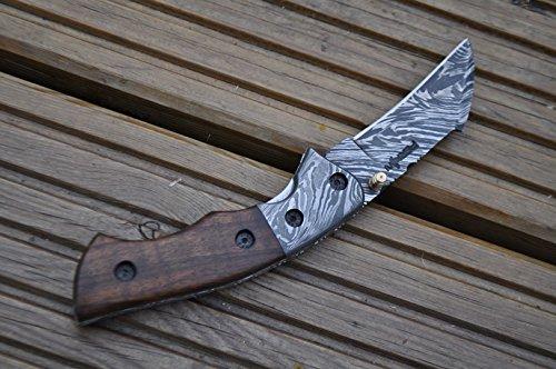 Perkin  3 Perkin - Handmade Damascus Pocket Knife - Beautiful Folding Knife