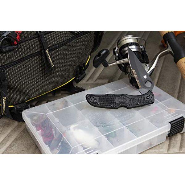 "Spyderco Folding Survival Knife 6 Spyderco Endura 4 Lightweight Signature Folder Knife with 3.80"" VG-10 Steel Blade and Brown FRN Handle - PlainEdge Grind - C10FPBN"