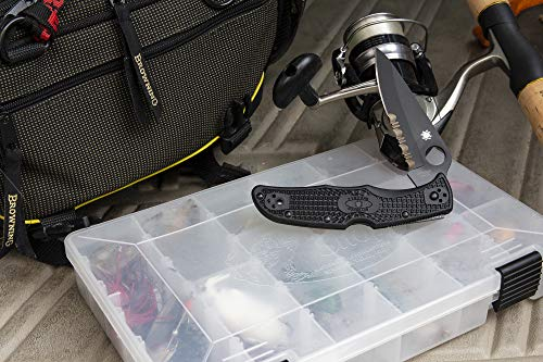 "Spyderco  6 Spyderco Endura 4 Lightweight Signature Folder Knife with 3.80"" VG-10 Steel Blade and Brown FRN Handle - PlainEdge Grind - C10FPBN"