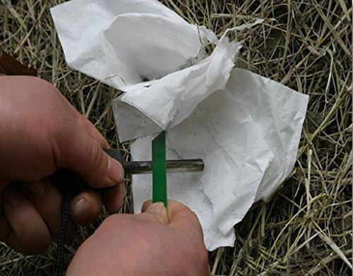 ETOPSTECH Survival Fire Starter 6 ETOPSTECH Survival Magnesium Flint Fire Starter Stick Lanyard for Camping Outdoor,Matchbox Fire Start Boy Scouts