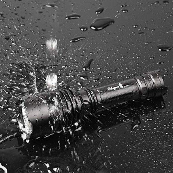 Odepro Survival Flashlight 7 Odepro KL41 420 Yards 850 Lumens 5 Modes Tactical LED Flashlight Waterproof Handheld Lights - Outdoor, Camping, Emergency Flashlights