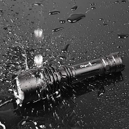 Odepro  3 Odepro KL41 420 Yards 850 Lumens 5 Modes Tactical LED Flashlight Waterproof Handheld Lights - Outdoor