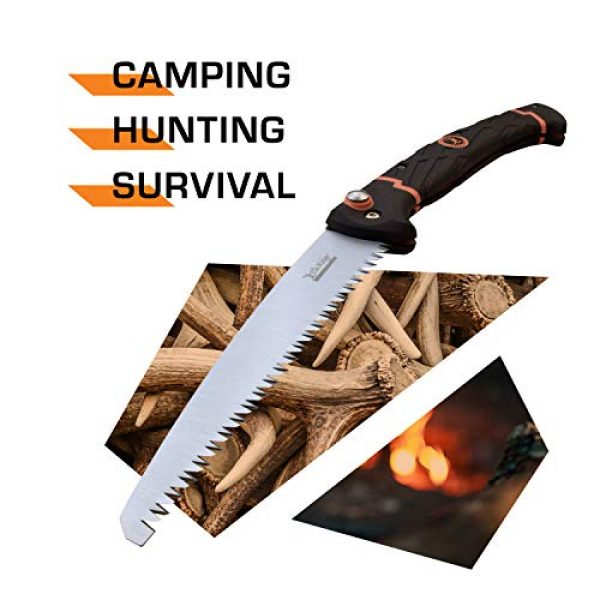 Elk Ridge Evolution Folding Survival Knife 2 Elk Ridge Evolution Folding Saw - ERE-SAW001-BO