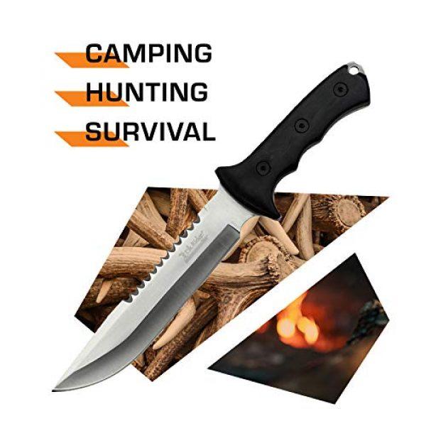 Elk Ridge Evolution Fixed Blade Survival Knife 2 Elk Ridge Evolution Fixed Blade Knife - ERE-FIX003-BK
