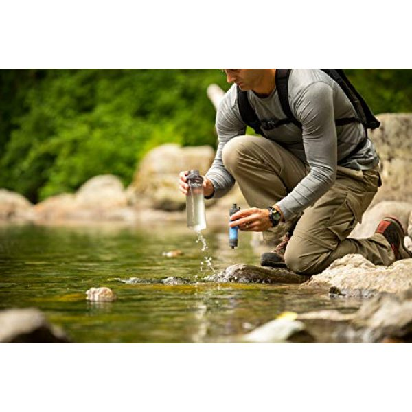 LifeStraw Survival Water Filter 3 LifeStraw Flex Multi-Function Water Filter System with 2-Stage Carbon Filtration for Hiking, Camping and Emergency Preparedness