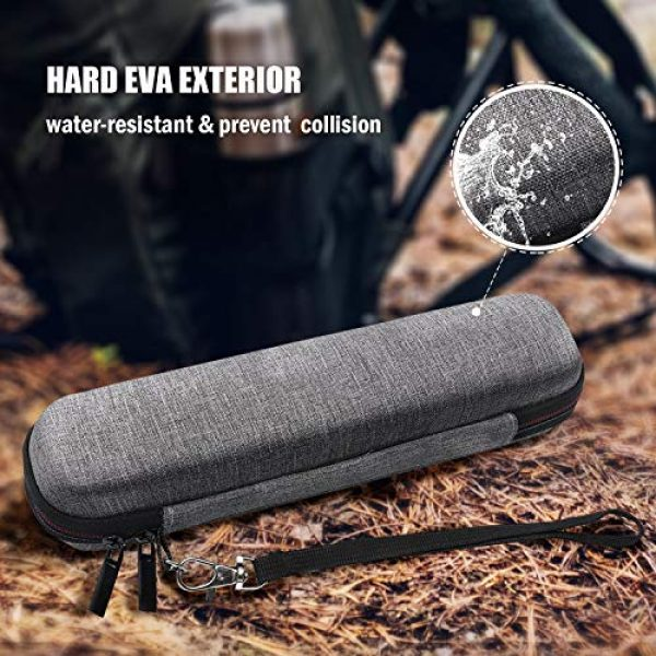 ProCase Survival Water Filter 4 ProCase Hard Travel Carrying Case for LifeStraw Personal Water Filter (Case ONLY), Shockproof EVA Storage Case for LifeStraw Steel Personal Water Filter Sewage Purification Storage -Grey