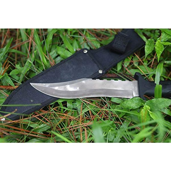 OEEK Fixed Blade Survival Knife 2 OEEK Fixed Blade Taictical Special Forces Knife, Outdoor Camping Huting Knife, Sharp with Nylon Sheath