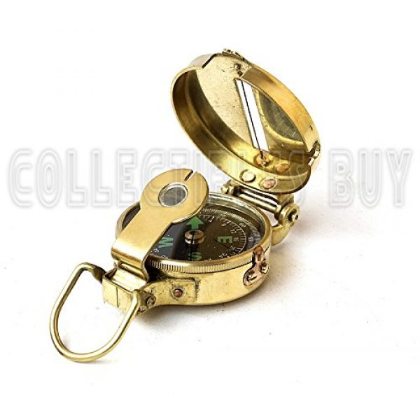 collectiblesBuy Survival Compass 6 collectiblesBuy Vintage Old Style Military Compass Nautical Pocket Shiny Brass Navigational Instrument