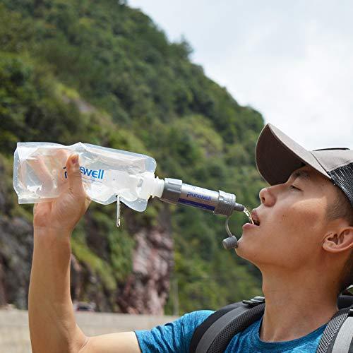 Personal Outdoor Water Purifier Mini Filter for Outdoor Activities