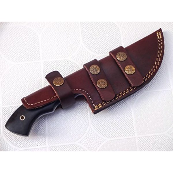 1166 Fixed Blade Survival Knife 7 TR-1166, Custom Handmade Tracker Knife - Special Promotional Price