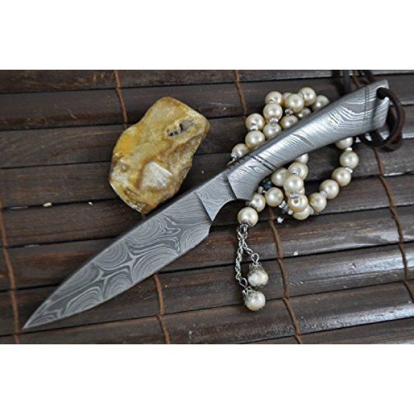 Perkin Fixed Blade Survival Knife 7 Perkin - Beautiful Custom Handmade - Camping Knife with Sheath