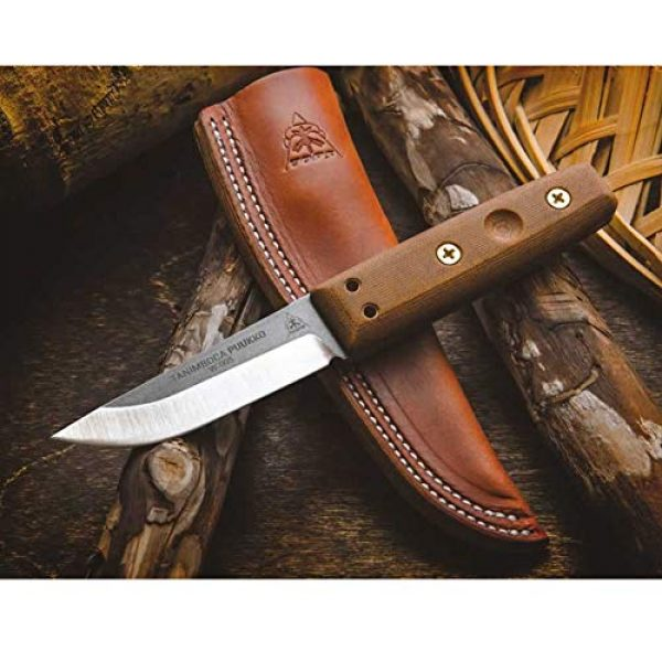 Tops Fixed Blade Survival Knife 4 Tops TPUK-01 Tanimboca Puukko