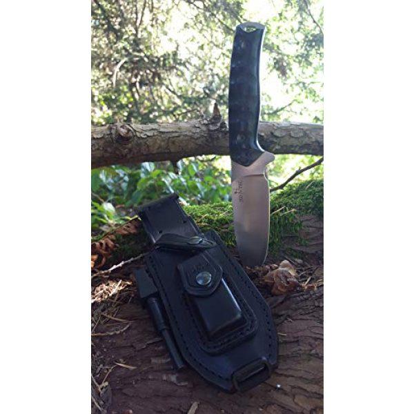 JEO-TEC Fixed Blade Survival Knife 3 JEO-TEC N21 Bushcraft Survival Hunting Knife - BOHLER N690C Stainless Steel, Multi-positioned Sheath - Handmade