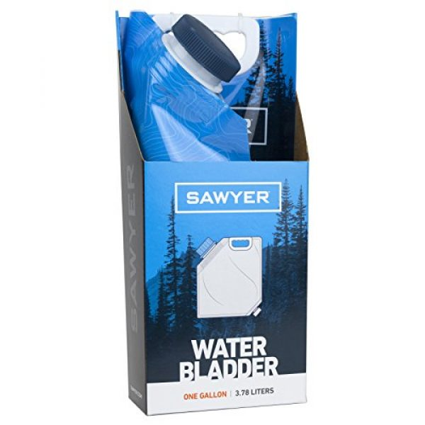 Sawyer Products Survival Water Filter 4 Sawyer Products Water Bladder for MINI and Squeeze Filters