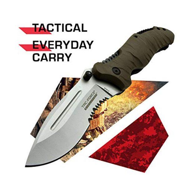 Tac Force Evolution Folding Survival Knife 2 Tac Force Evolution Folding Knife - TFE-FDR001-TN