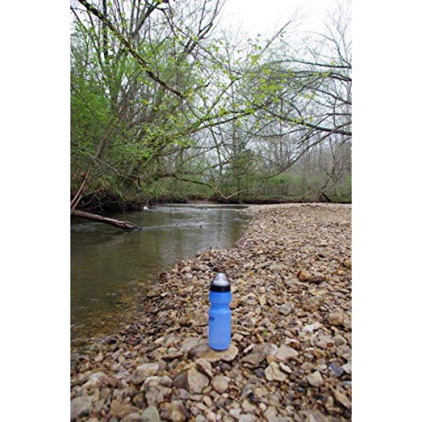 wisemen Survival Water Filter 6 wisemen Trading Survival Water Filter Bottle, BPA Free, Made in The USA.