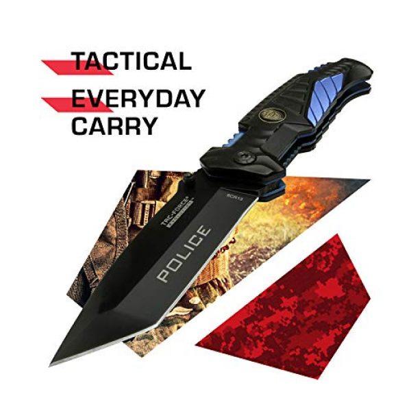 Tac Force Evolution Folding Survival Knife 2 Tac Force Evolution Spring Assisted Knife - TFE-A028T-PD