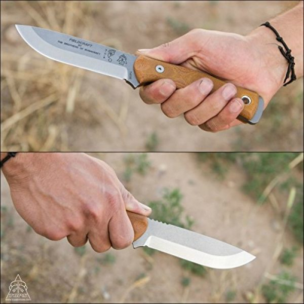 TOPS Knives Fixed Blade Survival Knife 4 TOPS Knives Brothers of Bushcraft - Tumble Finish