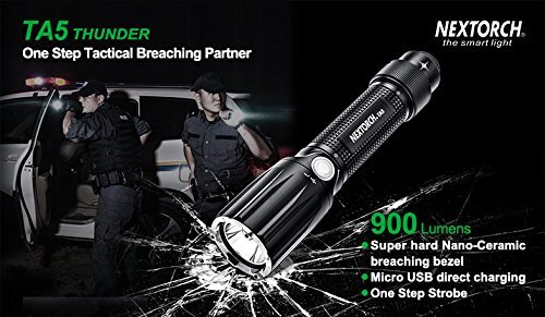 Safe Breaching with One Step Strobe Tail Cap Switch