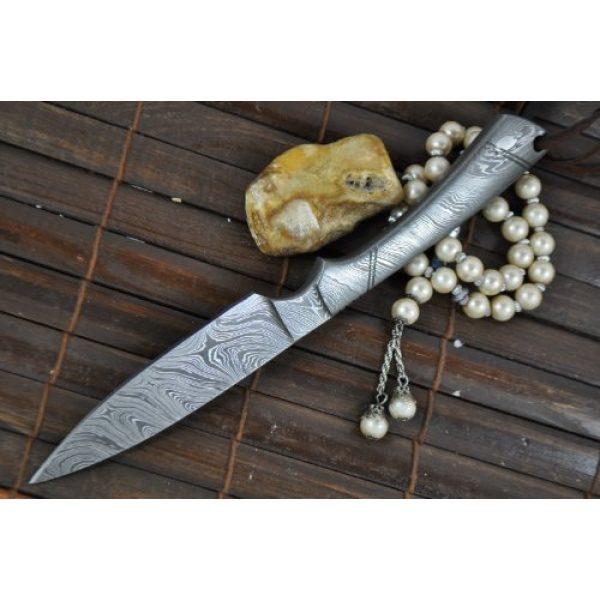 Perkin Fixed Blade Survival Knife 2 Perkin - Beautiful Custom Handmade - Camping Knife with Sheath