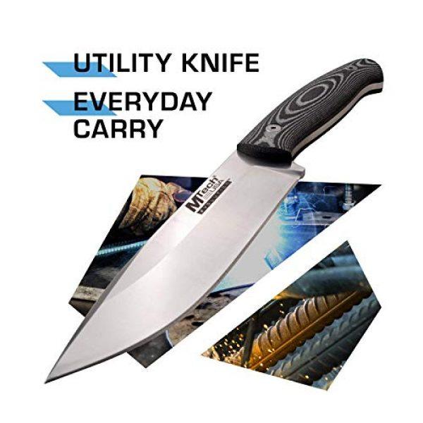 MTECH USA EVOLUTION Fixed Blade Survival Knife 2 MTech Evolution Fixed Blade Knife - MTE-FIX008-L