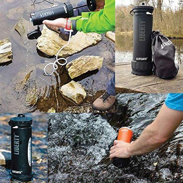ePrep Survival Water Filter 3 ePrep Lifesaver Water Purification System with Bundled Survival Kit. Emergency preparedness, Camping, Hiking, Bug-Out Bag, Disaster preparedness Pack