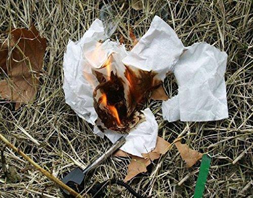 ETOPSTECH Survival Fire Starter 7 ETOPSTECH Survival Magnesium Flint Fire Starter Stick Lanyard for Camping Outdoor,Matchbox Fire Start Boy Scouts