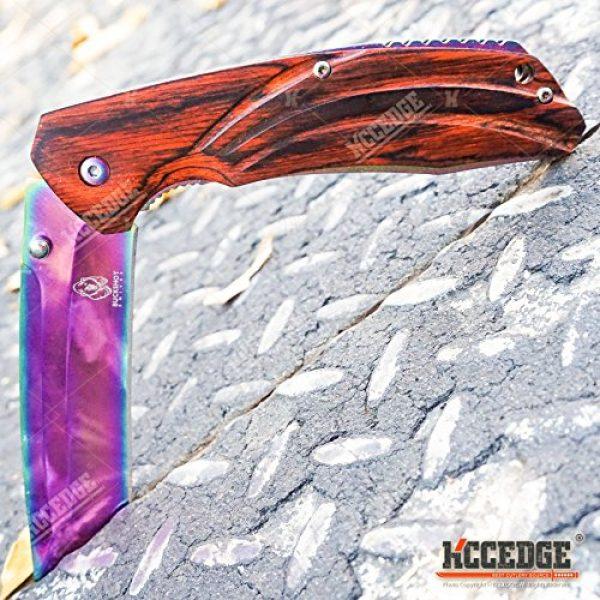 Wartech Folding Survival Knife 6 Buckshot Knives 8PC Ultimate Rainbow Combo Set Tactical Outdoor EDC Pocket Folding Knife Razor Blade Cleaver Wrench Multipurpose Camping Gear Pocket Knife