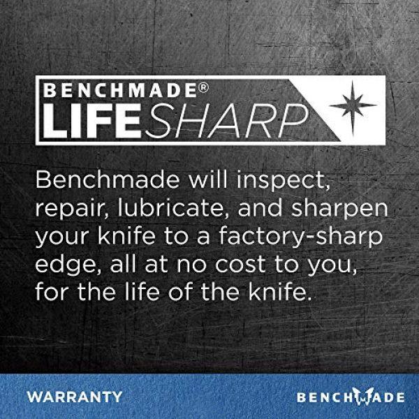 Benchmade Folding Survival Knife 6 Benchmade - 940 EDC Manual Open Folding Knife Made in USA, Reverse Tanto Blade