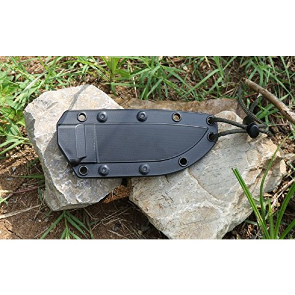 ESEE Fixed Blade Survival Knife 6 ESEE Knives 4P Fixed Blade Knife w/Handle and Molded Polymer Sheath