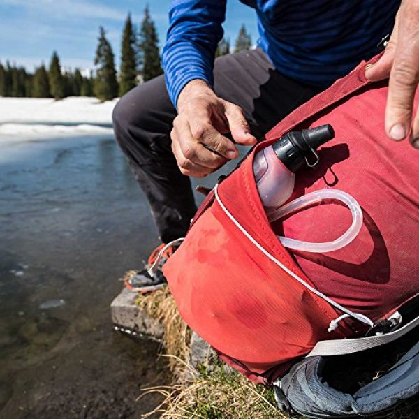 MSR Survival Water Filter 6 MSR Trail Base Personal Pump and Gravity Water Filter System