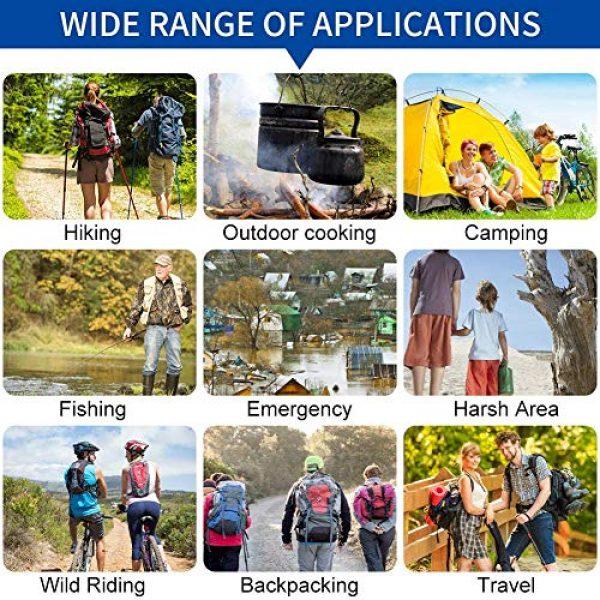 AVENTURE ET CULTURE Survival Water Filter 7 AVENTURE ET CULTURE Personal Water Filter for Hiking, Camping, Travel, and Emergency Preparedness