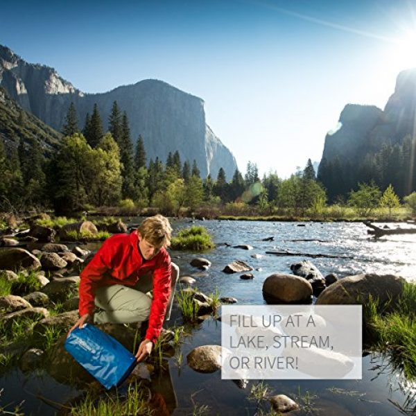 LifeStraw Survival Water Filter 6 LifeStraw Mission Water Purification System, High-Volume Gravity-Fed Purifier for Camping and Emergency Preparedness